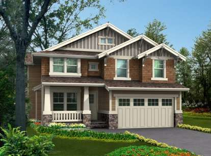 4 Bed, 2 Bath, 2875 Square Foot House Plan - #341-00085