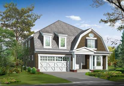 5 Bed, 2 Bath, 3686 Square Foot House Plan - #341-00155