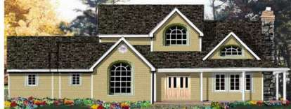 4 Bed, 2 Bath, 2473 Square Foot House Plan - #033-00122