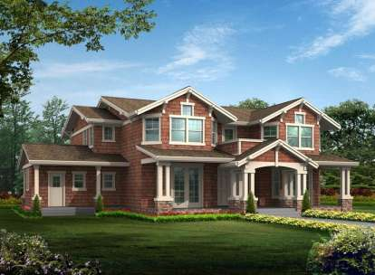 4 Bed, 4 Bath, 4057 Square Foot House Plan - #341-00165