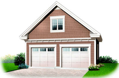 0 Bed, 0 Bath, 975 Square Foot House Plan #034-00168