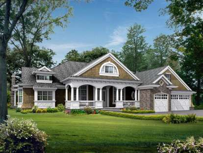 4 Bed, 3 Bath, 4195 Square Foot House Plan - #341-00189