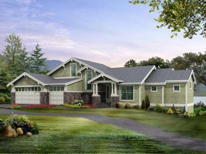 4 Bed, 4 Bath, 5367 Square Foot House Plan - #341-00191