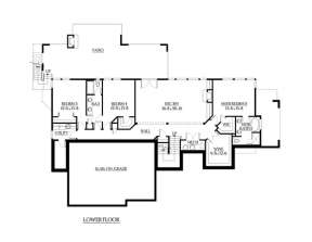 Floorplan 1 for House Plan #341-00191