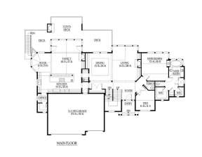 Floorplan 2 for House Plan #341-00191