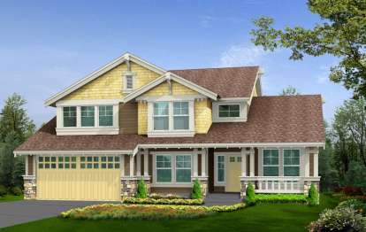 3 Bed, 2 Bath, 3577 Square Foot House Plan - #341-00197