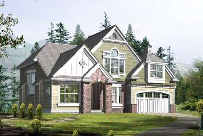 4 Bed, 3 Bath, 3395 Square Foot House Plan - #341-00207