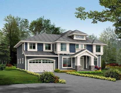 4 Bed, 2 Bath, 3793 Square Foot House Plan - #341-00220