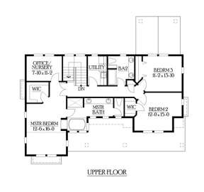 Floorplan 3 for House Plan #341-00223