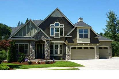 5 Bed, 3 Bath, 4630 Square Foot House Plan - #341-00236
