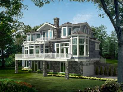 4 Bed, 3 Bath, 4036 Square Foot House Plan - #341-00241