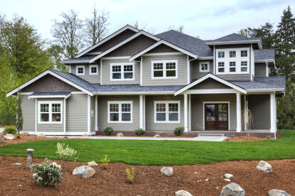 5 Bed, 4 Bath, 4385 Square Foot House Plan #341-00258