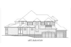 French Country House Plan #341-00274 Additional Photo
