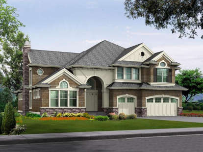 4 Bed, 3 Bath, 4750 Square Foot House Plan - #341-00277