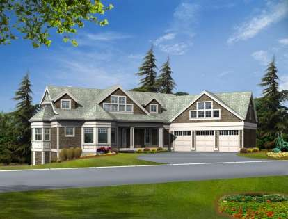 3 Bed, 2 Bath, 3886 Square Foot House Plan - #341-00285