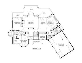 Floorplan 2 for House Plan #341-00286