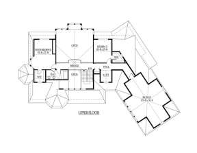 Floorplan 3 for House Plan #341-00286