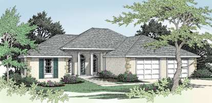 3 Bed, 2 Bath, 1785 Square Foot House Plan - #692-00038