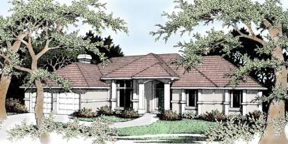3 Bed, 2 Bath, 1941 Square Foot House Plan - #692-00047