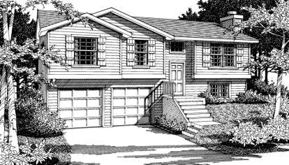 3 Bed, 2 Bath, 1183 Square Foot House Plan #692-00060