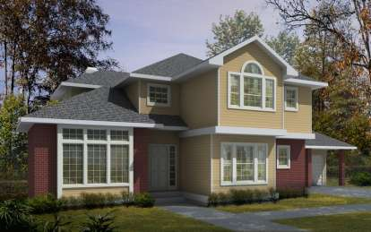 4 Bed, 3 Bath, 4068 Square Foot House Plan - #692-00071