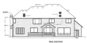 Traditional House Plan #692-00114 Elevation Photo