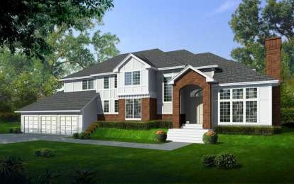 4 Bed, 3 Bath, 4130 Square Foot House Plan - #692-00115