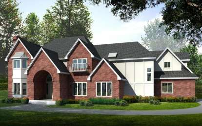 4 Bed, 4 Bath, 4722 Square Foot House Plan - #692-00117