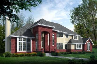 4 Bed, 3 Bath, 4209 Square Foot House Plan - #692-00119
