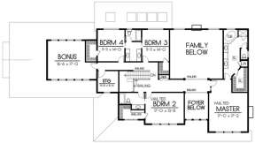 Floorplan 2 for House Plan #692-00136