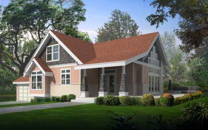 3 Bed, 2 Bath, 2104 Square Foot House Plan - #692-00163