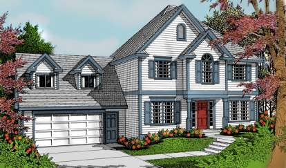 3 Bed, 2 Bath, 1857 Square Foot House Plan - #692-00174