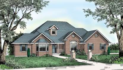 4 Bed, 2 Bath, 2331 Square Foot House Plan - #692-00178
