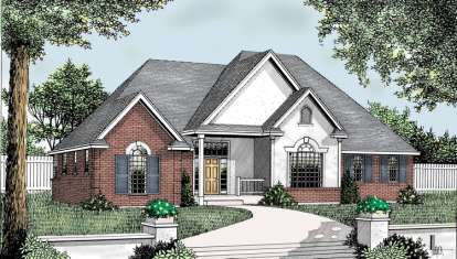 3 Bed, 3 Bath, 2360 Square Foot House Plan - #692-00179