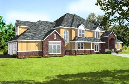4 Bed, 2 Bath, 5927 Square Foot House Plan - #692-00204