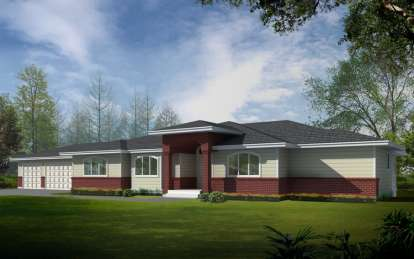 4 Bed, 4 Bath, 4453 Square Foot House Plan - #692-00210