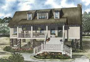 Cottage House Plan #110-00815 Elevation Photo