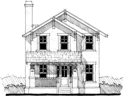 3 Bed, 2 Bath, 1886 Square Foot House Plan - #028-00062