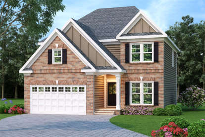4 Bed, 2 Bath, 2228 Square Foot House Plan - #009-00050