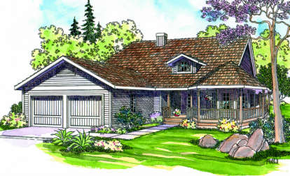 3 Bed, 2 Bath, 2145 Square Foot House Plan - #035-00033