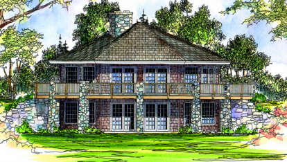 3 Bed, 2 Bath, 1999 Square Foot House Plan - #035-00049