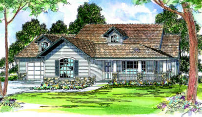 3 Bed, 2 Bath, 2011 Square Foot House Plan - #035-00054