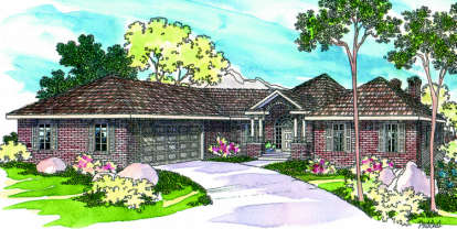 3 Bed, 2 Bath, 2365 Square Foot House Plan - #035-00062