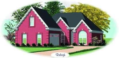 2 Bed, 2 Bath, 1650 Square Foot House Plan - #053-00535