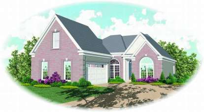 2 Bed, 2 Bath, 1892 Square Foot House Plan - #053-00536