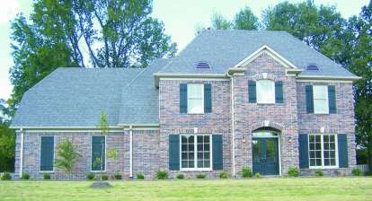 4 Bed, 3 Bath, 2975 Square Foot House Plan - #053-00553