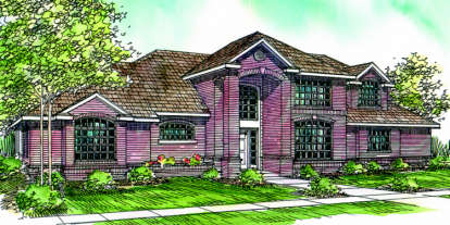 3 Bed, 2 Bath, 2571 Square Foot House Plan - #035-00069