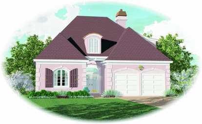 3 Bed, 2 Bath, 2362 Square Foot House Plan - #053-00601