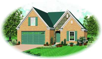 3 Bed, 2 Bath, 2026 Square Foot House Plan - #053-00602