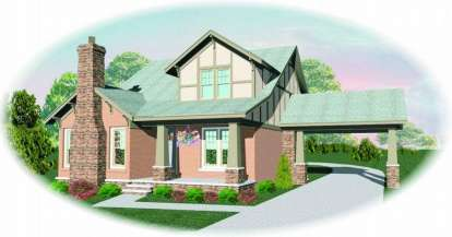 3 Bed, 2 Bath, 2514 Square Foot House Plan - #053-00616